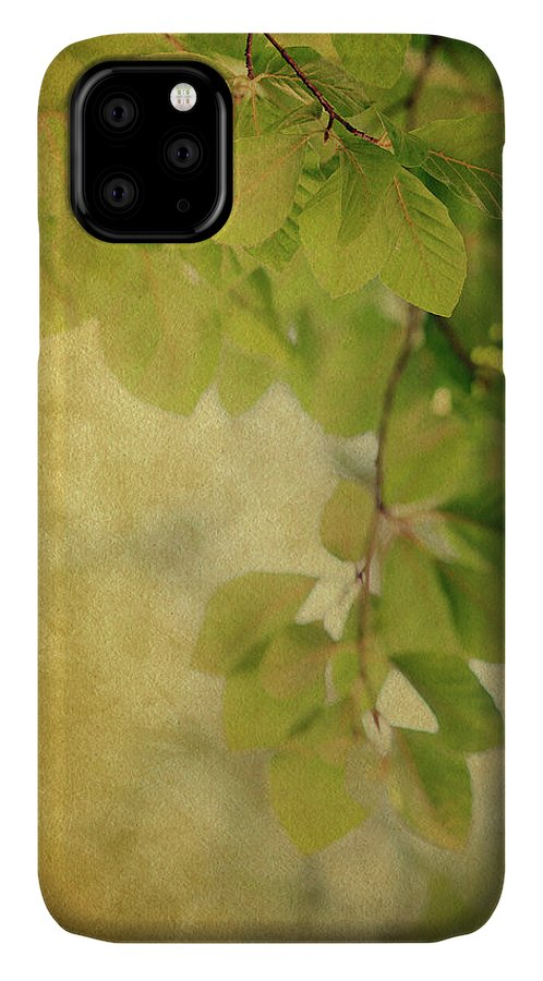 Leaves IPhone Case featuring the photograph Golden by Rebecca Cozart
