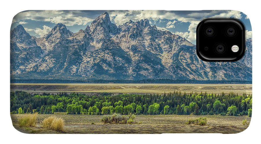 Jackson IPhone Case featuring the photograph Grand Tetons National Park by John M Bailey