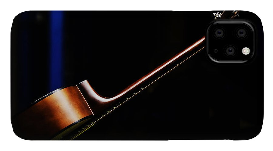 Guitar IPhone Case featuring the photograph Guitar by Sheila Smart Fine Art Photography