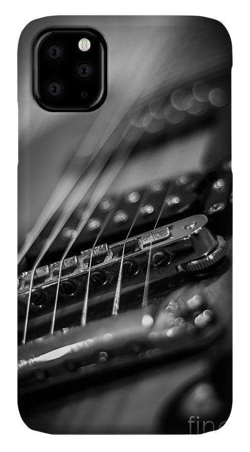 Guitar IPhone Case featuring the photograph Guitar1 by Bob Mintie
