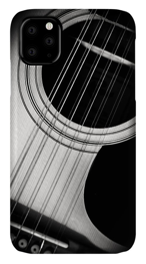 Guitar IPhone Case featuring the photograph Guitar6 by Bob Mintie