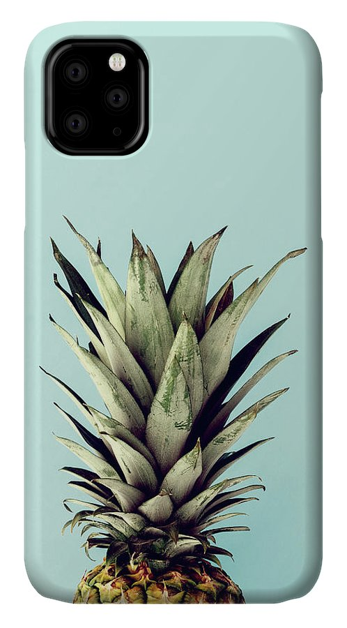 IPhone Case featuring the digital art Happy Pinneaple by Rafael Farias