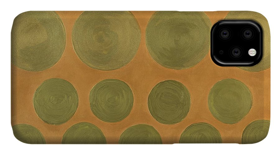 Adamantini IPhone Case featuring the painting He Tu Metal by Adamantini Feng shui