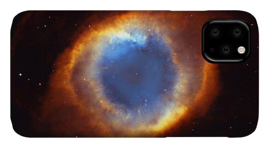 Helix IPhone Case featuring the photograph Helix Nebula by Ricky Barnard