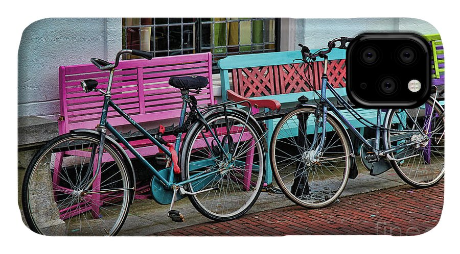 Bicycles IPhone Case featuring the photograph Hers And Hers by Jasna Buncic