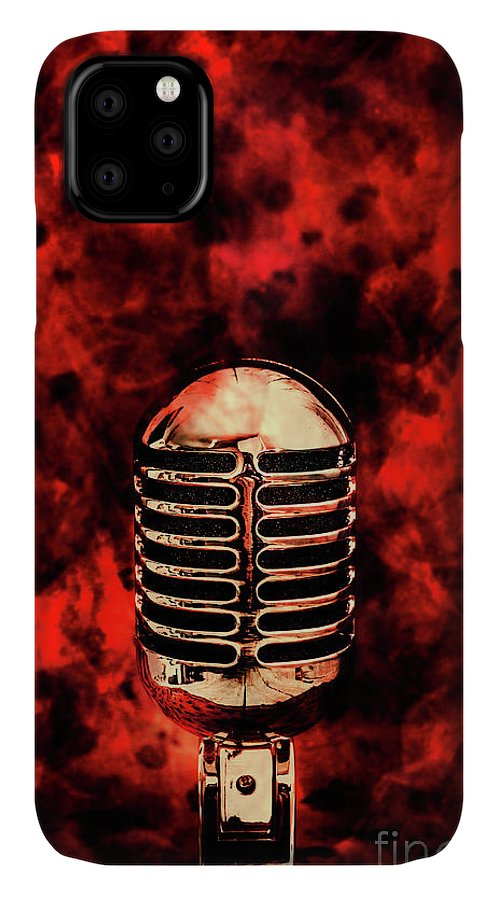 Fire IPhone 11 Case featuring the photograph Hot Live Show by Jorgo Photography - Wall Art Gallery