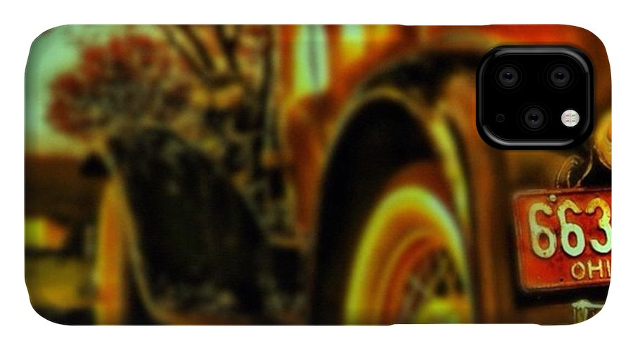 Popularpic IPhone Case featuring the photograph I Love This #classiccar Photo I Took In by Pete Michaud