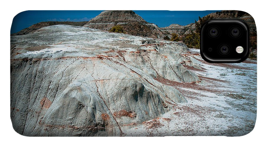 Badlands IPhone Case featuring the photograph In The Badlands by Bob Mintie