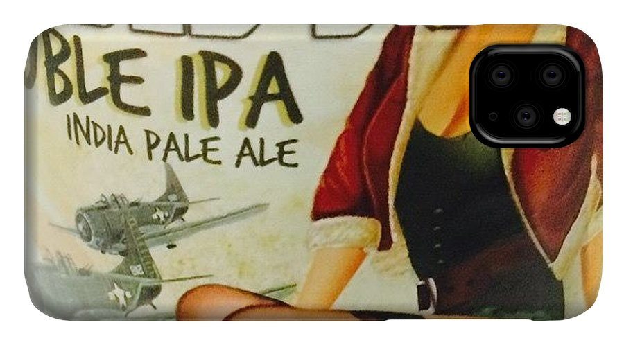 Alcohol IPhone 11 Case featuring the photograph India Pale Ale  by Steven Digman