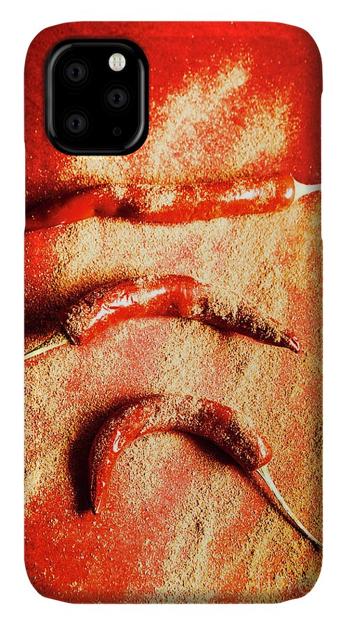 Art IPhone Case featuring the photograph Indian Food Seasoning And Spices by Jorgo Photography - Wall Art Gallery