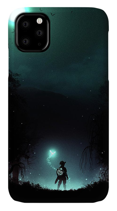 Moonlight in 1986 iPhone 11 case
