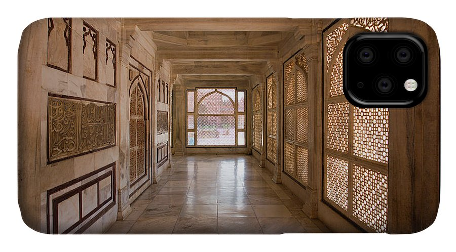 Jami IPhone 11 Case featuring the photograph Jami Masjid, Tomb Of Salim Chisti In Fatehpur Sikri by Aivar Mikko