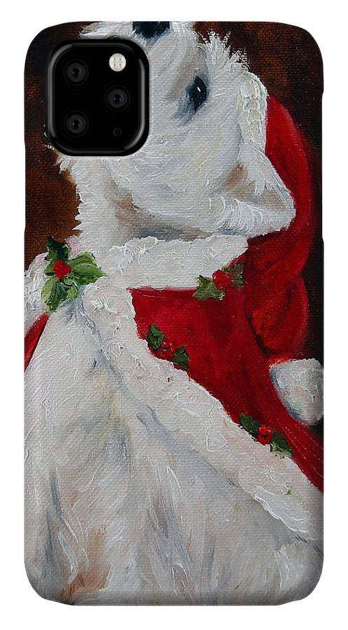 Art IPhone Case featuring the painting Joy To The World by Mary Sparrow