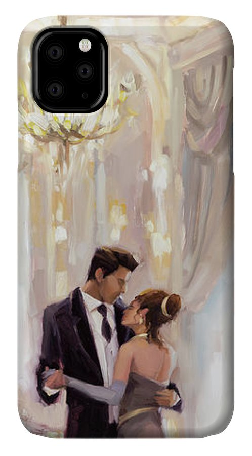 Romance IPhone Case featuring the painting Just The Two Of Us by Steve Henderson