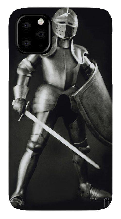 Knight IPhone 11 Case featuring the photograph Knight by Tony Cordoza