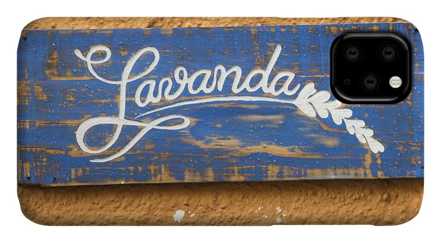 Advertisement IPhone Case featuring the photograph Lavanda by Juli Scalzi