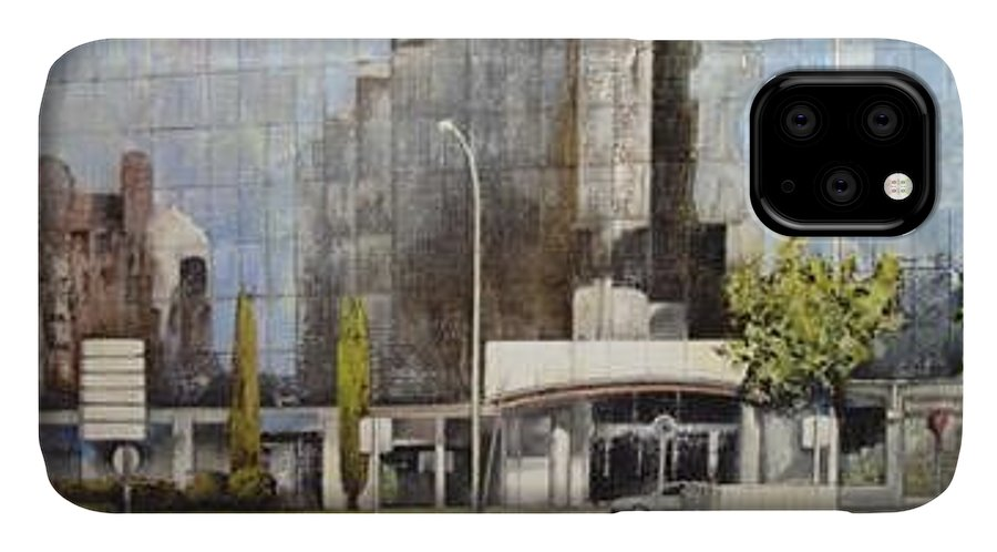 Leon IPhone Case featuring the painting Leon by Tomas Castano