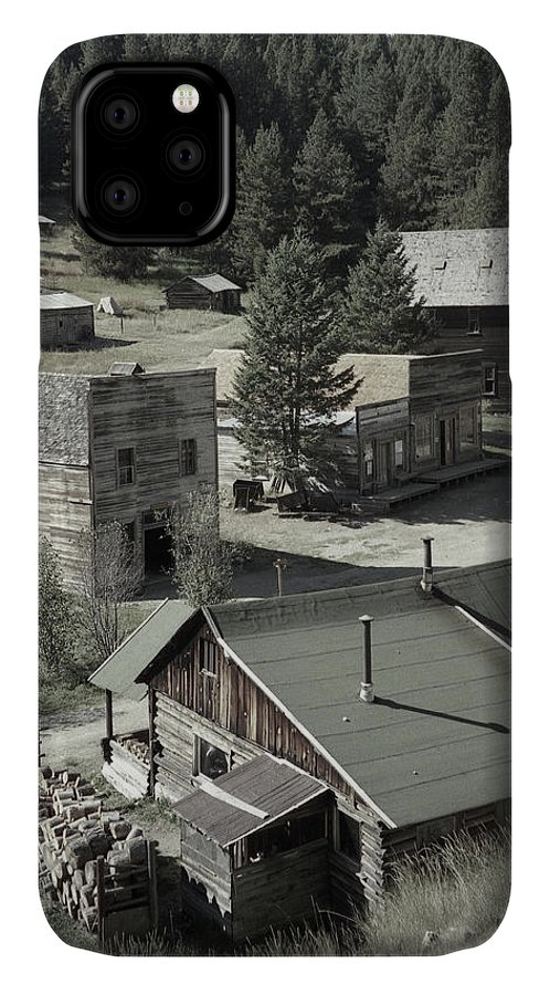 Ghost Towns IPhone 11 Case featuring the photograph Life In A Ghost Town by Richard Rizzo