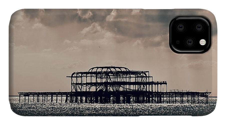 Brighton IPhone Case featuring the photograph Light Shower by Jasna Buncic