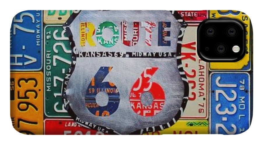 Route66 IPhone Case featuring the photograph Limited Time Promotion In #october On by Design Turnpike