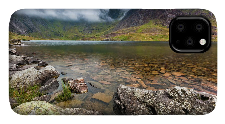 IPhone Case featuring the photograph Llyn Idwal #1, Cwm Idwal, Snowdonia, North Wales by Anthony Lawlor