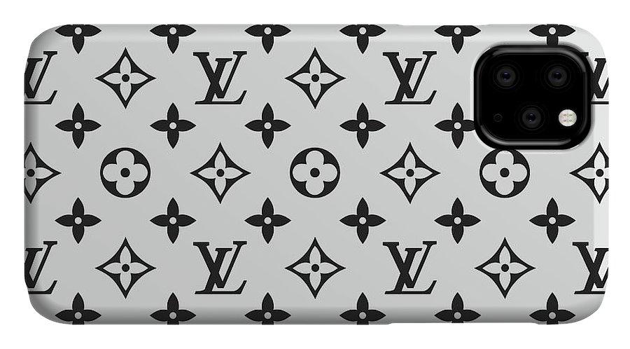 Louis Vuitton Pattern Lv 07 Grey IPhone 11 Case