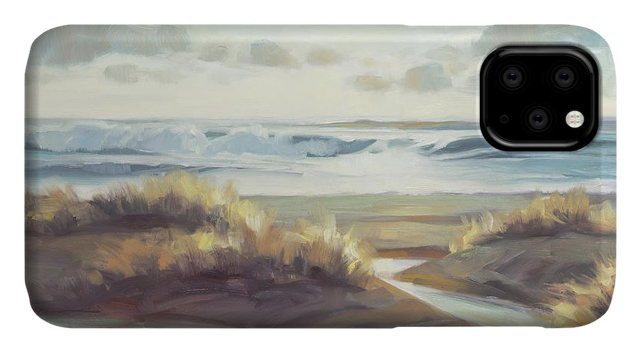 Ocean IPhone Case featuring the painting Low Tide by Steve Henderson