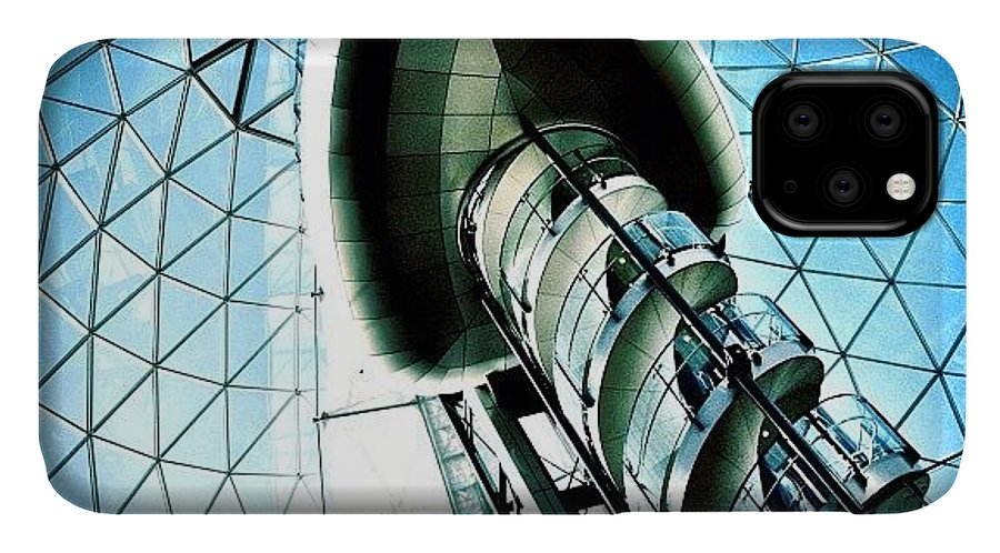 Shop IPhone Case featuring the photograph Mall by Mark B