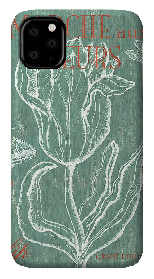 Floral IPhone Case featuring the painting Marche aux Fleurs by Debbie DeWitt