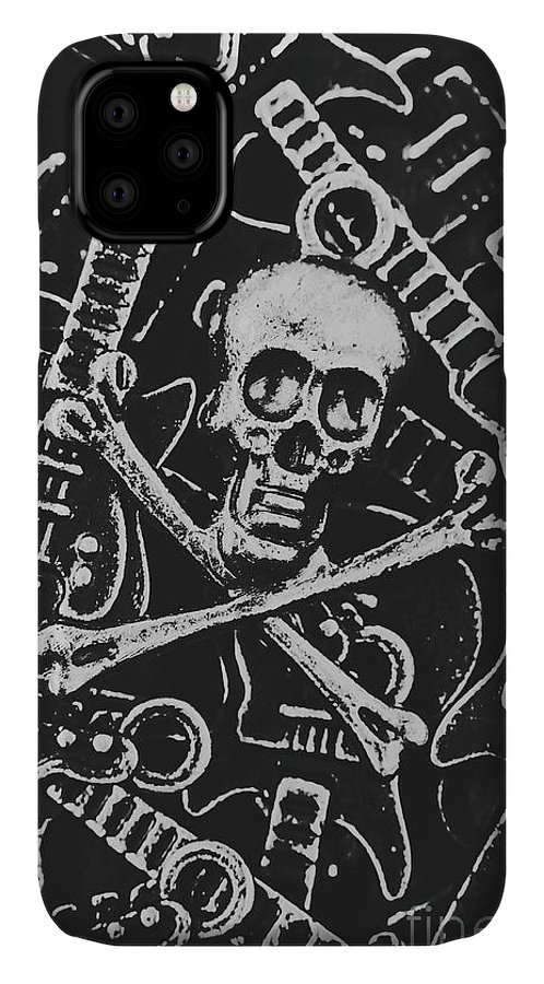 Horror IPhone Case featuring the photograph Melodic Death Metal by Jorgo Photography - Wall Art Gallery