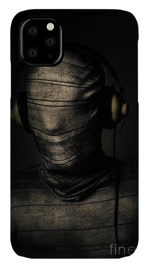 Death IPhone Case featuring the photograph Metal Monster Mummy by Jorgo Photography - Wall Art Gallery