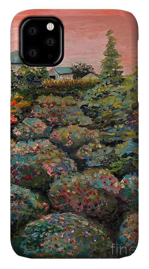 Minnesota IPhone Case featuring the painting Minnesota Memories by Nadine Rippelmeyer