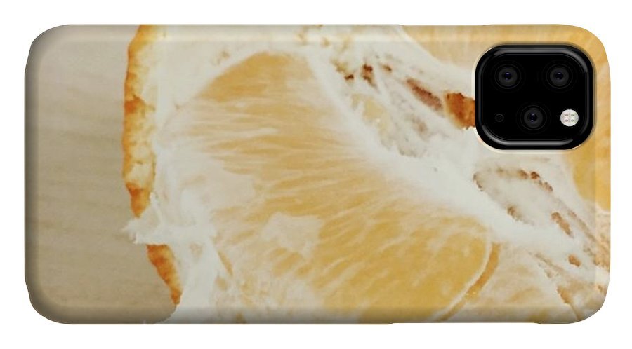 Tangelo IPhone 11 Case featuring the photograph Tangelo by Nancy Ingersoll