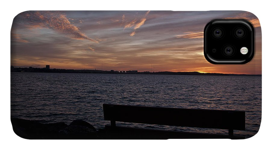 Wisconsin IPhone 11 Case featuring the photograph Moments Of Silence by Deborah Klubertanz