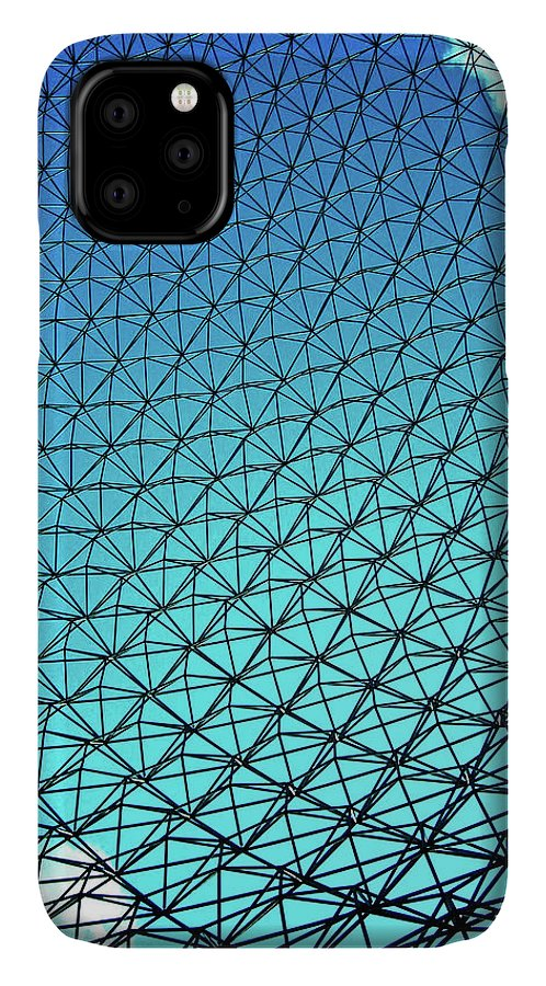 North America IPhone 11 Case featuring the photograph Montreal Biosphere by Juergen Weiss