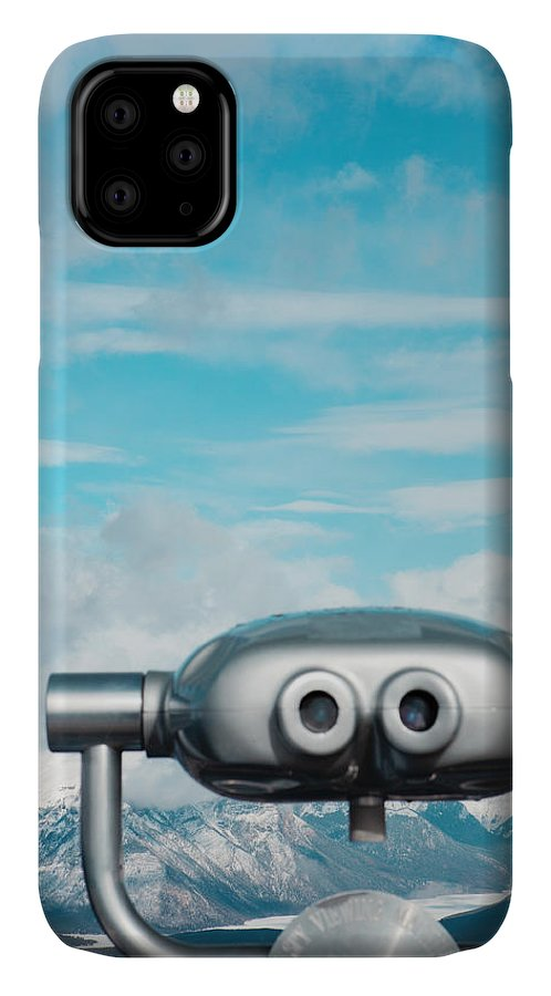 Day IPhone Case featuring the photograph Mountaintop View by Kim Fearheiley
