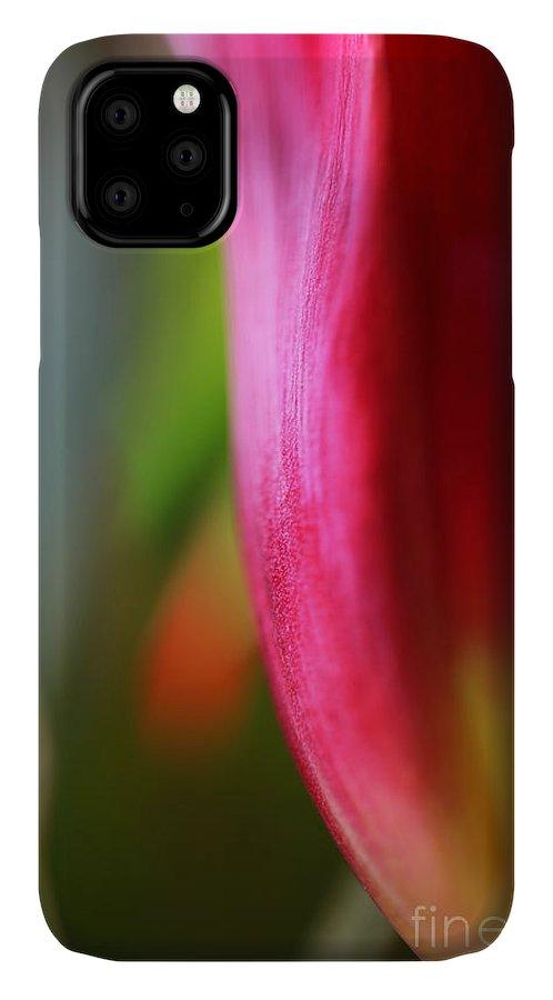 Tulip IPhone Case featuring the photograph My Cup Overflows by Amanda Barcon