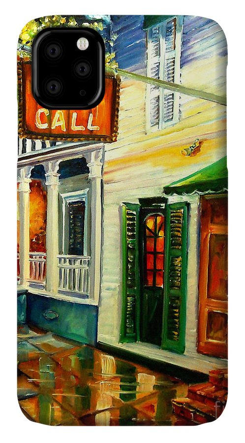 New Orleans IPhone Case featuring the painting New Orleans Port Of Call by Diane Millsap