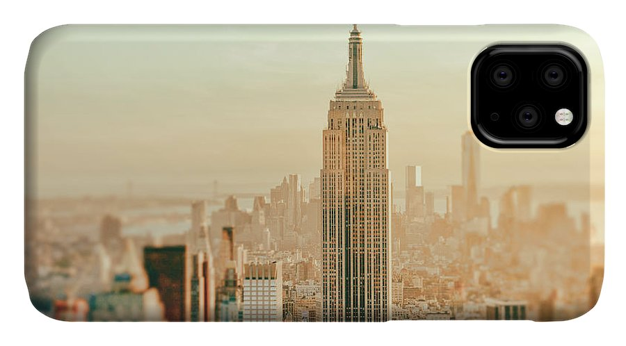 Nyc IPhone Case featuring the photograph New York City - Skyline Dream by Vivienne Gucwa