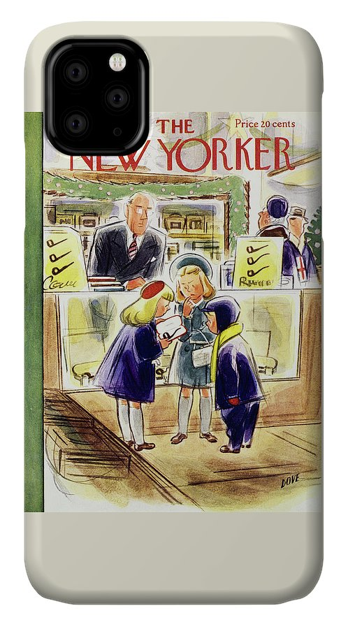 New Yorker December 13 1952 IPhone Case