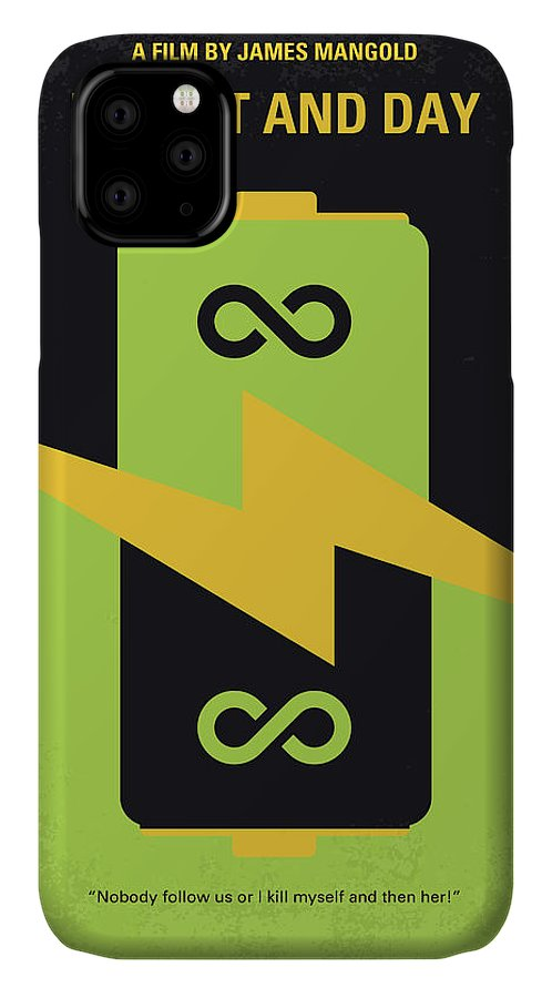 Knight IPhone Case featuring the digital art No899 My Knight And Day Minimal Movie Poster by Chungkong Art