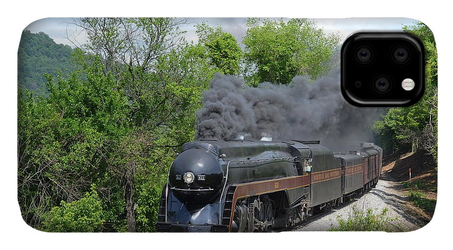611 IPhone Case featuring the photograph Norfolk and Western Class J #611 by Steve Gass