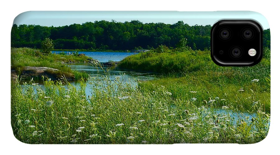 Meadow IPhone 11 Case featuring the photograph Northern Ontario 1 by Claire Bull
