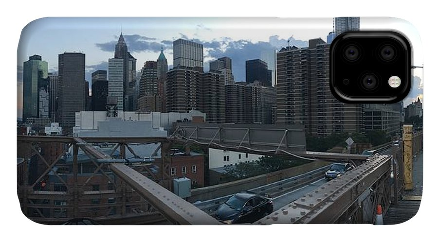 IPhone Case featuring the photograph NYC by Ashley Torres