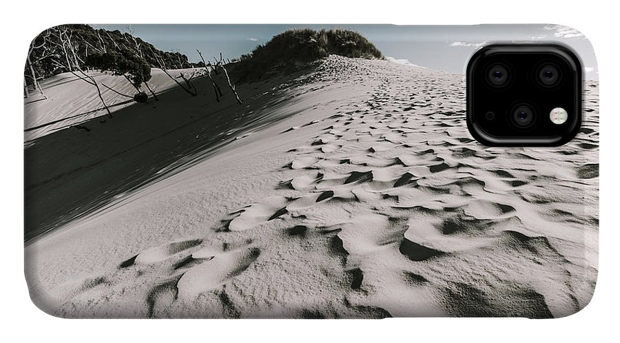 Outback IPhone Case featuring the photograph Ocean Beach Desert In Tasmania by Jorgo Photography - Wall Art Gallery