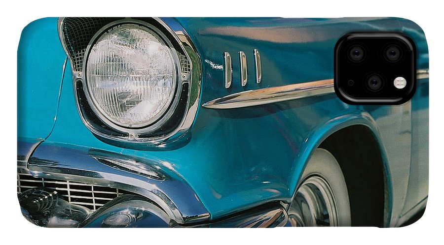 Chevy IPhone Case featuring the photograph Old Chevy by Steve Karol