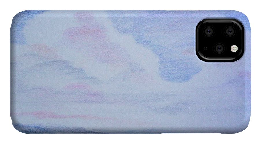 Landscape Painting IPhone Case featuring the painting On the Way by Suzanne Udell Levinger