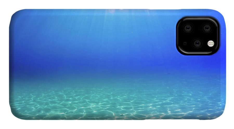 Turquoise IPhone Case featuring the photograph One Deep Breath by Nicklas Gustafsson