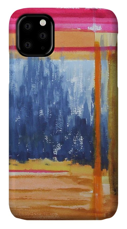 Landscape IPhone Case featuring the painting Opening by Suzanne Udell Levinger