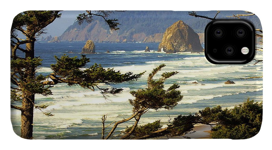 Ocean IPhone 11 Case featuring the photograph Oregon Coast 15 by Marty Koch